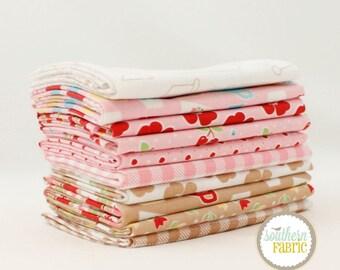 Bake Sale 2 - Pink - 10 Fat Quarter Bundle by Lori Holt for Riley Blake