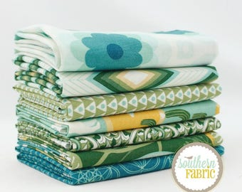 Florabelle - Taos by Joel Dewberry  7 Half Yard Bundle Quilt Fabric - for Free Spirit
