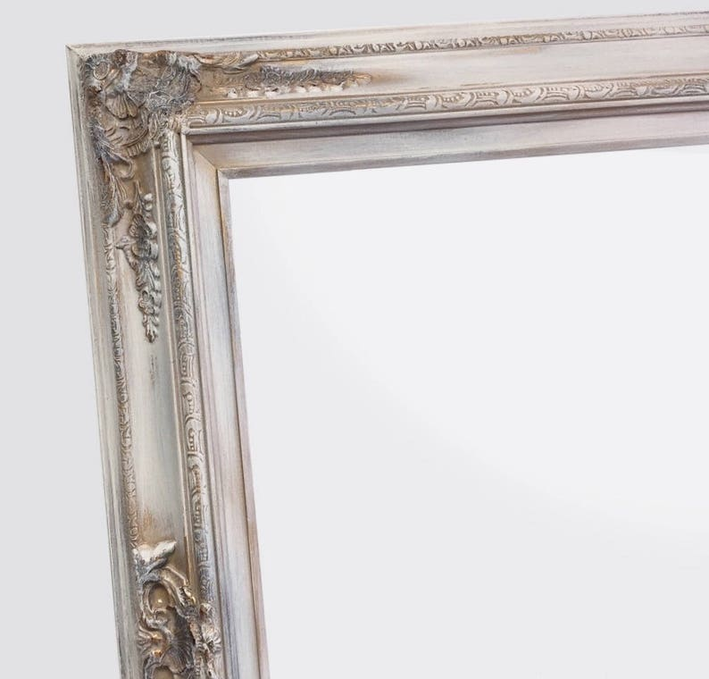 Decorative Full Length Mirror.Decorative Full Length Mirrors For Sale 62 X 32 White Antique Finish Baroque Decorative Mirror Long Leaning Framed Mirror Shabby Chic