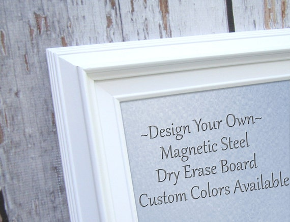 magnet boards for sale white modern framed magnetic board dry etsy