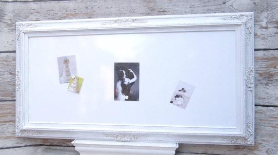 Large Framed Whiteboards For Sale Magnetic Whiteboard Large Etsy
