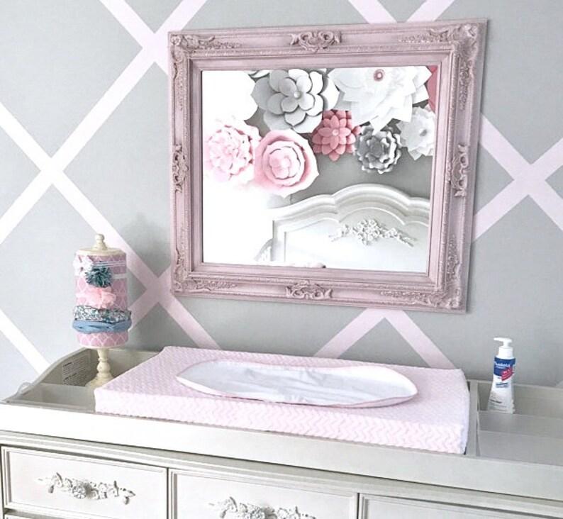 Miroir de chambre denfant rose miroir bébé fille chambre | Etsy