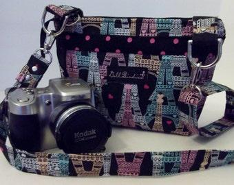 Dollbirdies Small Compact Camera Bag, Camera Purse, Camera Tote