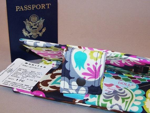 Dollbirdies Boarding Pass Passport Wallet