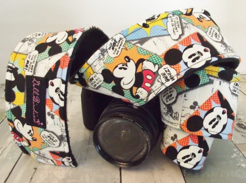 Camera Acessory Padded Camera Strap Sleeve Dollbirdies Original Camera Strap Sleeve