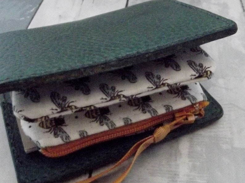 Dollbirdies Original Nano Traveler Notebook Insert Wallet Nano Travel Wallet Nano Wallet Nano Insert