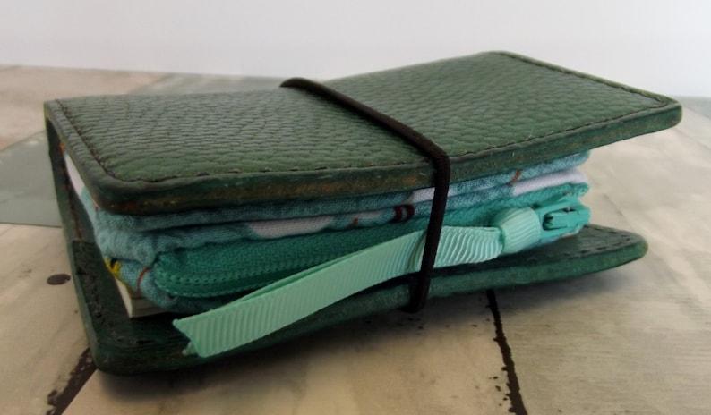 Dollbirdies Original NanoMini Traveler Notebook Insert Nano Wallet Nano Travel Wallet