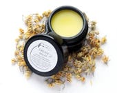 Faerie Balm - Organic Beauty Balm -  Linden Salve - Infused Flowers - All Natural Moisturizer - 2/3 oz