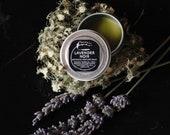 Lavender Noir - solid botanical perfume - 1 gram sample size