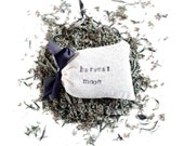 Mugwort Harvest Moon Dream Pillow - special edition - fragrant wild Artemisia - intuition, dream recall lucid dreaming
