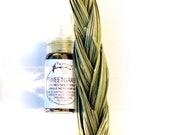 Sweetgrass Single Note Perfume Mist for Sacred Space and Sweet Energy  - 3 ml spray bottle