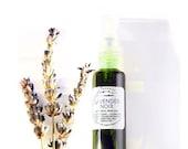 Lavender Noir - crushed lavender, flower incense, mushrooms, moss and smoke - botanical perfume - 10 ml spray
