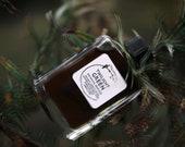 Twilight Green - wild, meditative noir, dark floral - botanical perfume - 1 ml mini vial