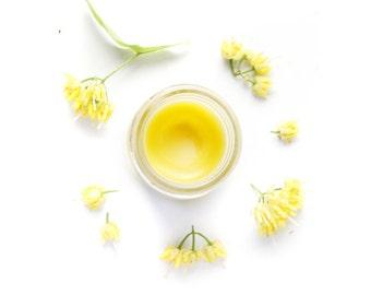 Pre order - Faerie Balm - Organic Beauty Balm -  Linden Salve - Infused Flowers - All Natural Moisturizer - 1 oz jar