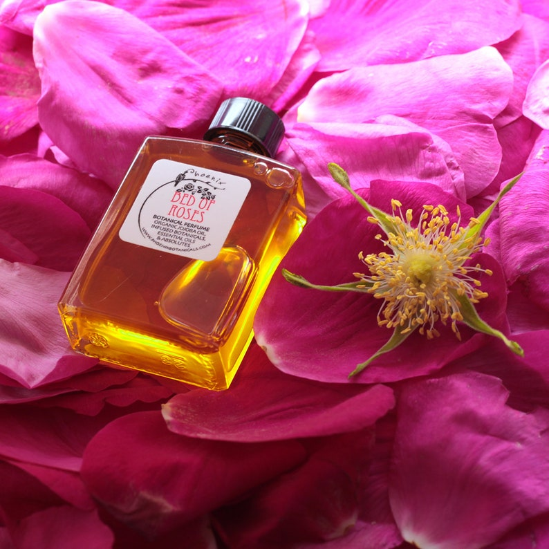 Bed of Roses  Botanical Perfume  Seaside Rose with Champaca image 0