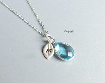 Personal Necklace Topaz - 925 Sterling Silver