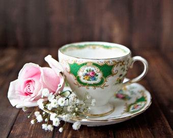 Rose & Teacup ~ 8x10 Photo Print