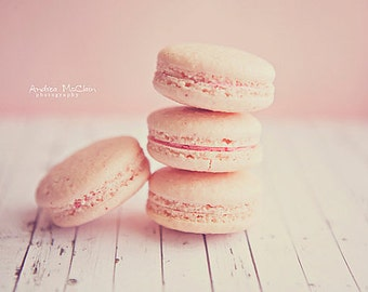 Pink French Macaroons ~ 5x7 print
