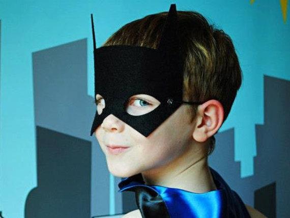 Superhero Mask Kids Halloween Costume Accessories PINK BAT MASK Perfect super hero party gift