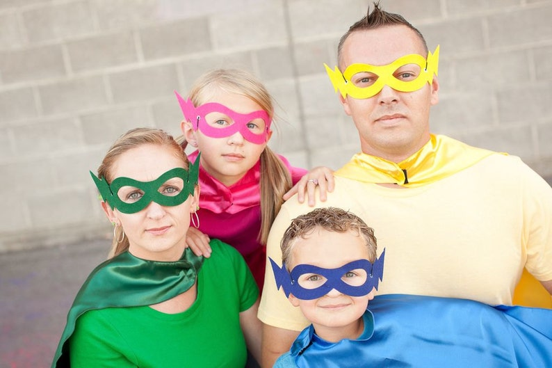 Adult Superhero MASK Halloween hero mask Halloween Party Favor 8 colors choices Party mask Perfect party gift Fast Ship