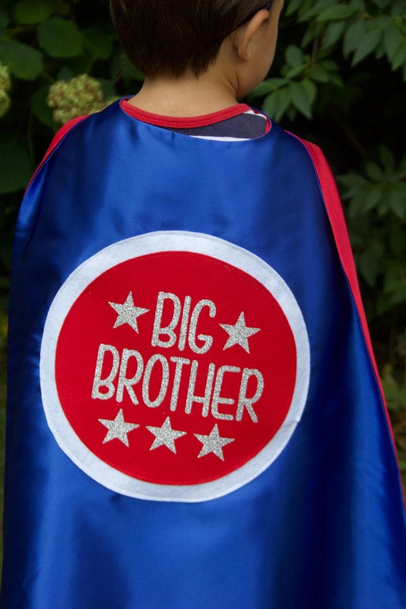 BIG BROTHER Superhero Cape Set  Kids superhero cape  Big image 0