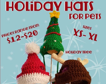 Holiday Hats for Pets