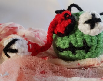 Zombie Head Toy for Cats & Small Dogs