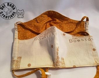 Downton Abbey Reversible & Reusable Cotton Face Mask