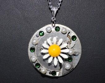 Steampunk Necklace  Daisy Daisy  SP 18-1