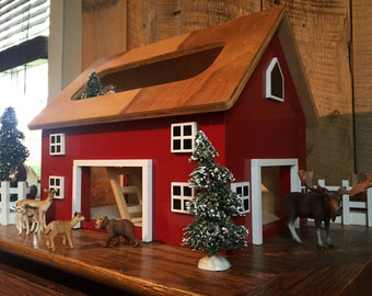 Parker - Kids Hardwood Toy Barn - ZERO VOC