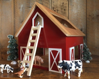 Taylor - Kids Hardwood Toy Barn - ZERO VOC