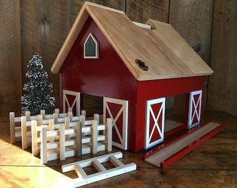 Cooper -Kids Hardwood Toy Barn - zero voc