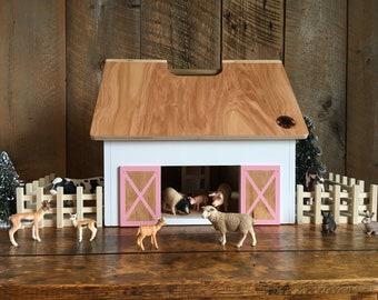 Allie - Kids Hardwood Toy Barn
