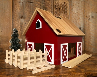 Avery - Kids Hardwood Toy Barn - zero voc