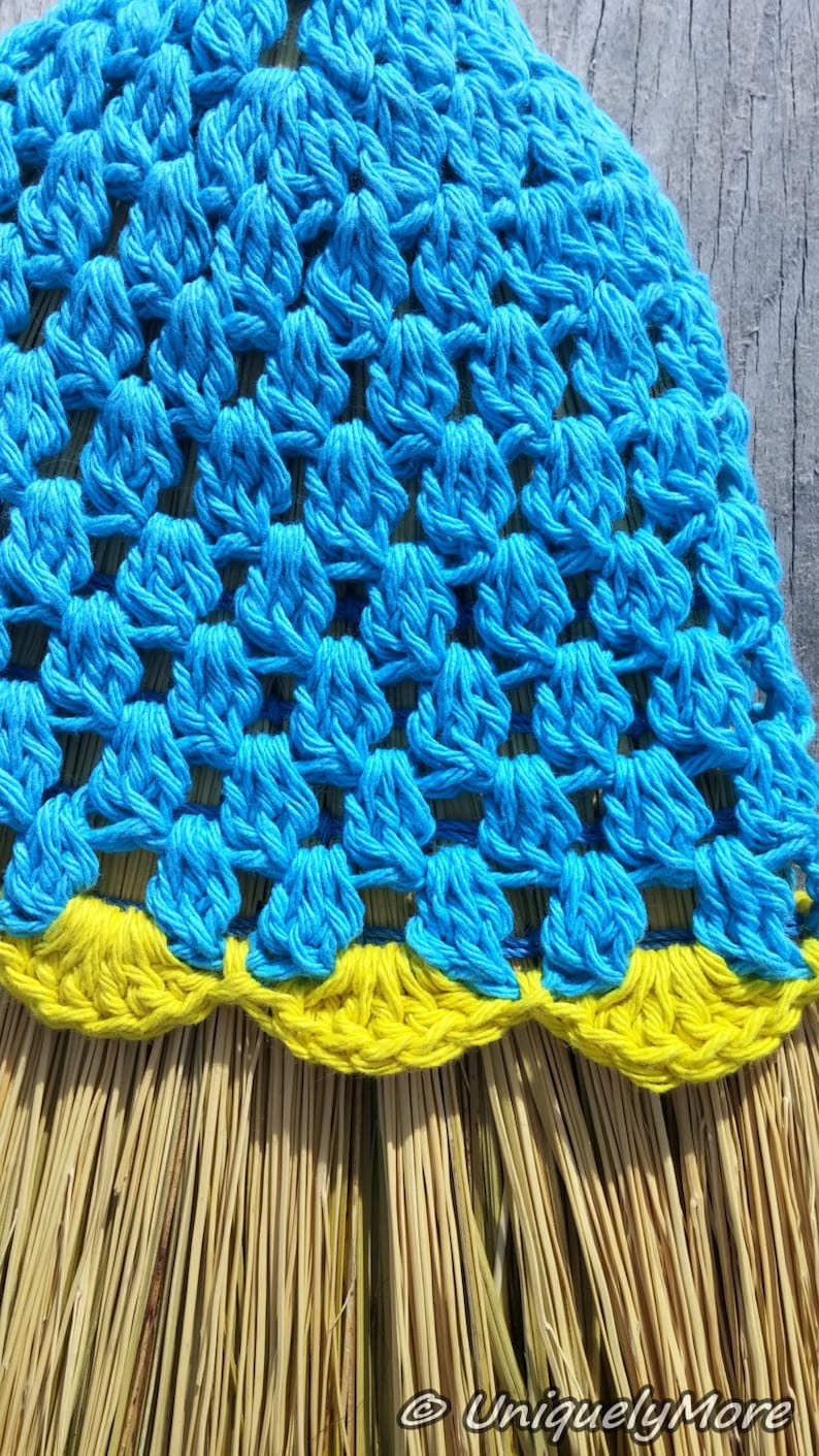 Crochet Pattern,Cluster Broom Cover,Broom Cover,Broom Decor,Crocheted Broom Cover,Crochet Cover,Cluster Cover,House cleaning,Instructions