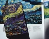 Passport cover - Van Gogh - Starry Night - Passport Case - Travel Passport