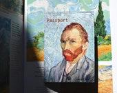 Passport cover - Van Gogh - Passport Case - Travel Passport