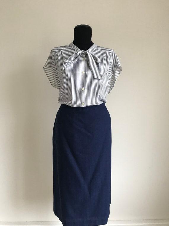 Vintage 60s Three Piece Plus Size Suit / 60s Skirt