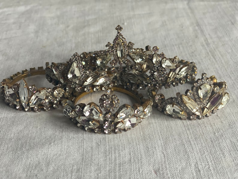 Antique Tiara Vintage Dolls Crown. Christmas Decoration. image 0