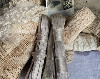 Antique Silver Cord. Authentic 1900s Trim. Vintage Tape. French Haberdashery Millinery. Vintage Wedding & Period Costume Drama/ 300 cm