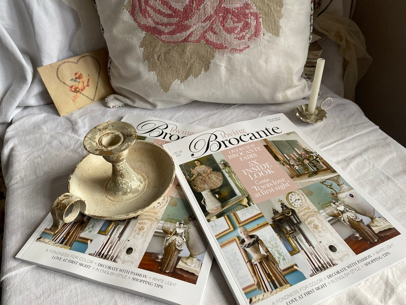 Loving Brocante Magazine. Vintage & Shabby Chic Interiors image 0