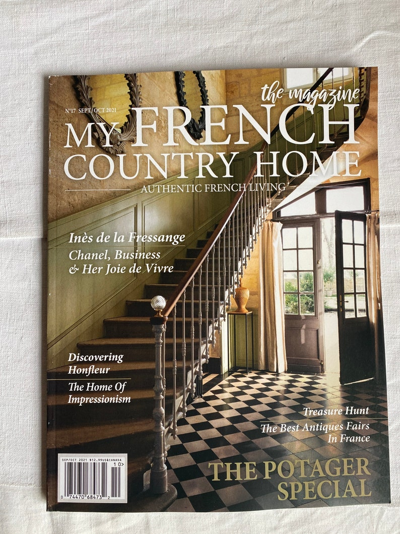 My French Country Home Magazine. Vintage Interiors Decorating. image 0