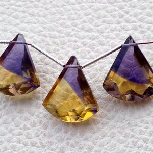 Brand New Faceted Cut Marquise Shape Briolettes,16x8mm,Superb 5 Matched pairs Superb New CHAMPAGNE Quartz