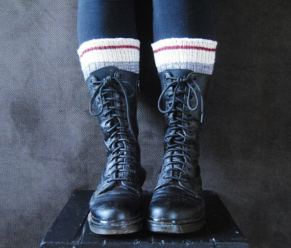 Stout Boot Toppers Knitting Pattern Etsy