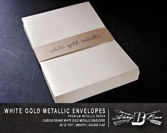 25 coral metallic a6 envelopes invitation envelope 4 3 4 x etsy