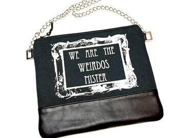 We Are The Weirdos Mister Bag, The Craft Bag, Weirdos Cross Body Bag, Witch Cross Body Bag, Leathet Cross Body Bag