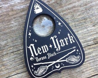 Wooden Planchette, New York Planchette, Witch Planchette, Spirit Board Collectable