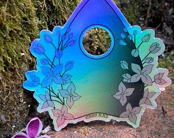 Holographic Lilac Planchette Sticker