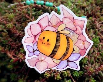 """3"""" Vinyl Sticker - Bee"""