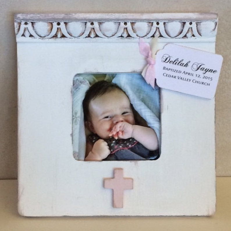 Personalized Frame Baby Gift Baby Shower Birth Baptism Christening Naming Gift Present for Girl